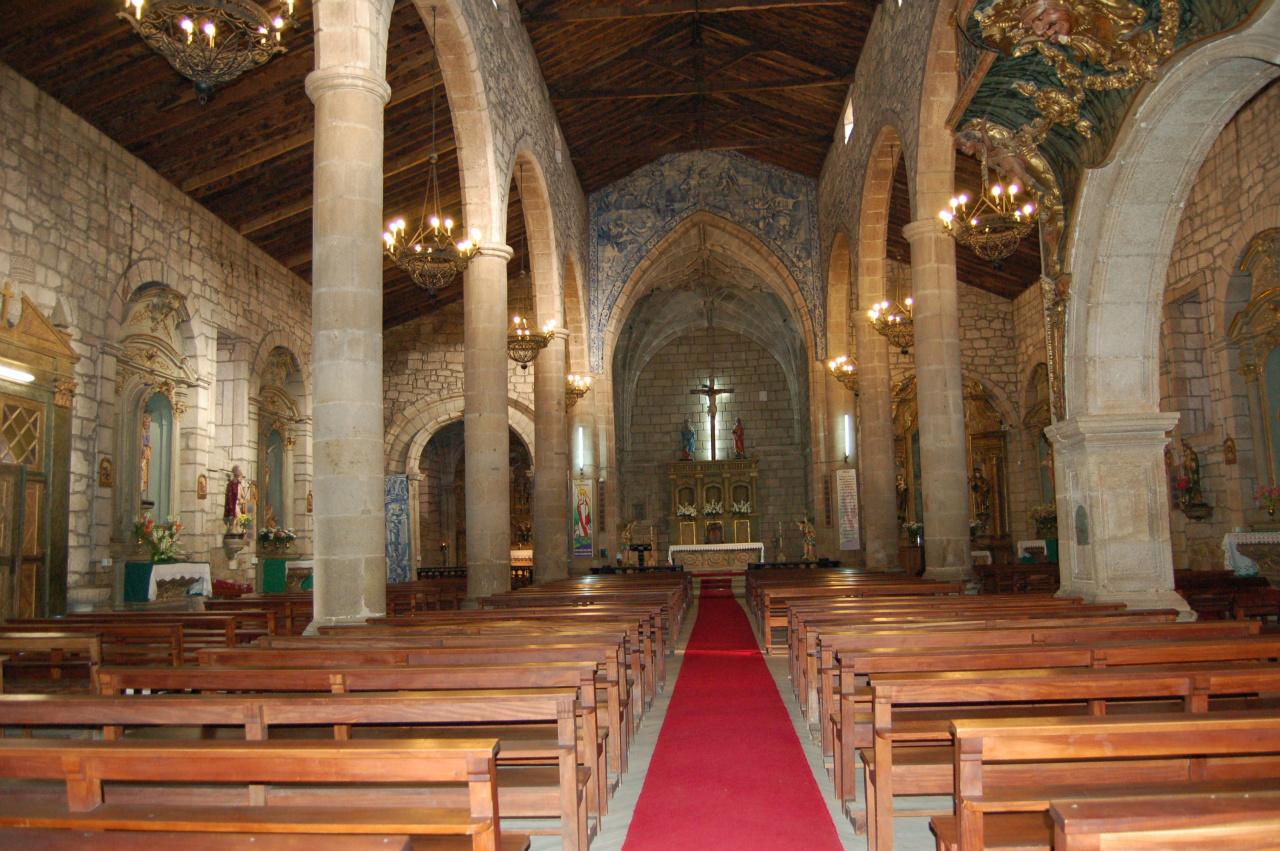 Sítio da Paróquia de Santa Maria Maior de  Chaves